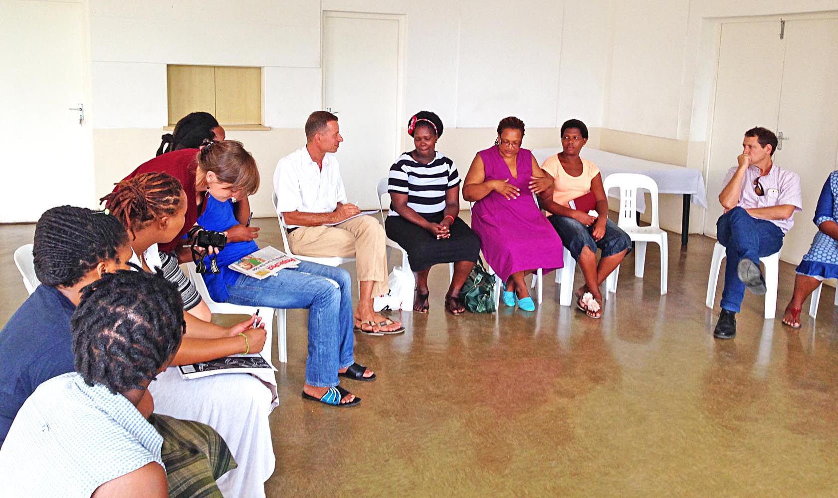 Masiphumelele discussions
