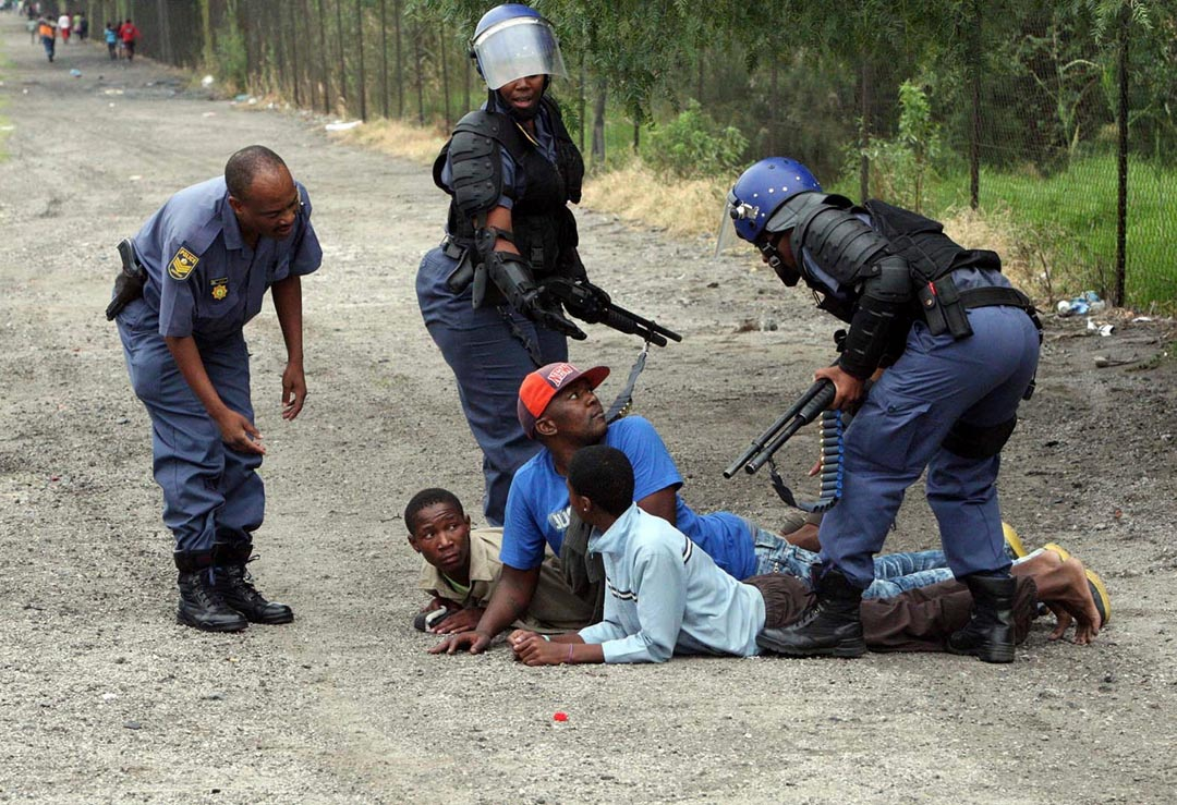 South African anger boils over very frequently in what are termed service delivery protests