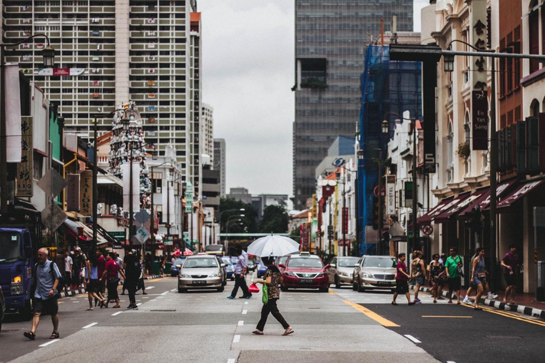 Singapore's city-based economy took off after independence